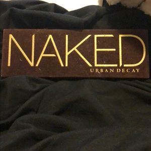 Original naked urban decay palette.